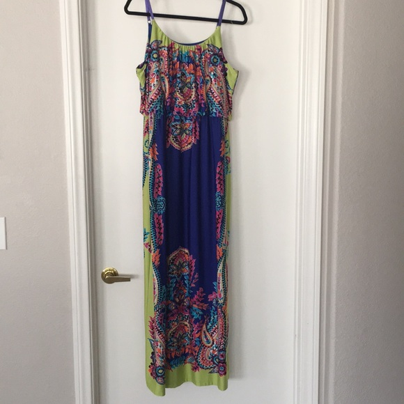 e95dabbf7c39 Maurices Maxi Dress size XL. M 5accfa043a112e9ee2852c10